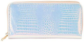 Holographic Zip-Up Wallet