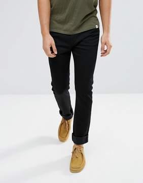 Edwin ED-90 Skinny Straight Jeans Rinse Wash