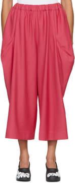 Comme des Garcons Pink Protrusions Trousers