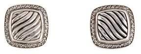 David Yurman Diamond Earrings