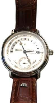 Maurice Lacroix Masterpiece Jour et Nuit Leather 43mm Watch