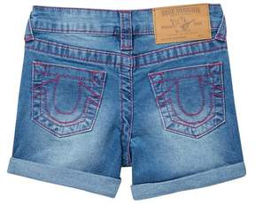 True Religion Coral SE Shorts (Little Girls)