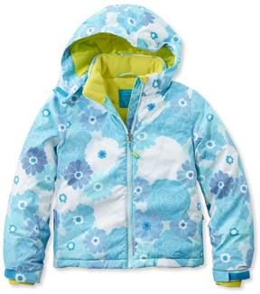 L.L. Bean L.L.Bean Girls' Snowscape Jacket, Print