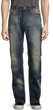 Affliction Men's Cooper Fleur Travertine Slim Jeans