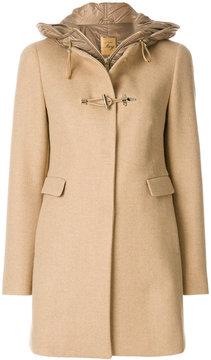 Fay hooded coat