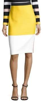BOSS Vylotea Colorblock Pencil Skirt