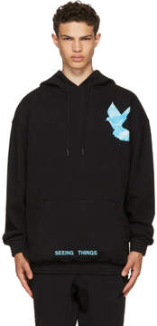 Off-White Black Not Real Dove Hoodie
