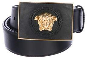Versace Leather Medusa Belt