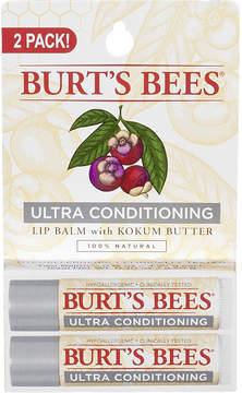 Burt's Bees Ultra Conditioning Lip Balm with Kokum Butter 2 pk