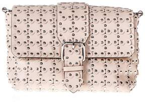 RED Valentino Flower Puzzle Nude Shoulder Bag