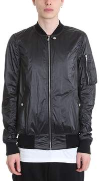 Drkshdw Black Nylon Flight Jacket