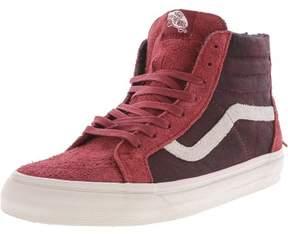 Vans Sk8-Hi Zip Dx Varsity Red High-Top Leather Skateboarding Shoe - 9.5M / 8M