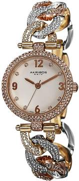 Akribos XXIV Alloy Ladies Watch