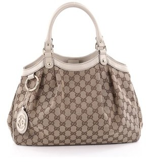 Gucci Pre-owned: Sukey Tote Gg Canvas Medium. - BROWN - STYLE