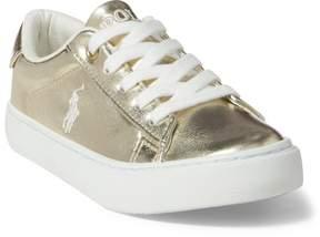 Ralph Lauren Easten Faux-Leather Sneaker