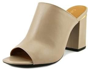 Calvin Klein Womens Cicelle Open Toe Mules.
