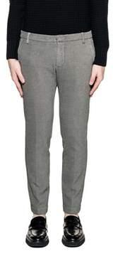 Entre Amis Men's White/black Cotton Pants.