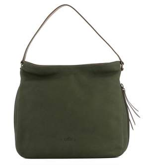 Hogan Women's Green Leather Tote