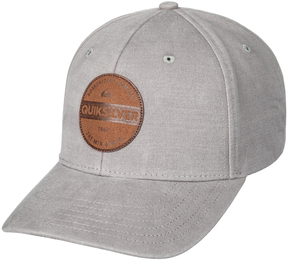 Quiksilver Medium Gray Heather Blues Buster Ball Cap