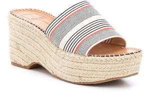 Dolce Vita Lada Stripe Espadrille Platform Wedge Sandals