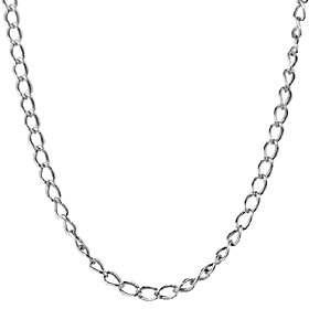 American West Sterling 28 Antiqued Cable Chain