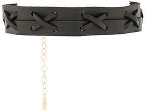 Ettika Leather Choker