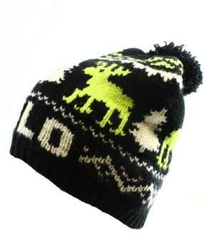 Polo Ralph Lauren Mens Wool Reindeer Winter Hat