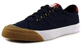 K-Swiss Irvine Men Round Toe Canvas Blue Sneakers.