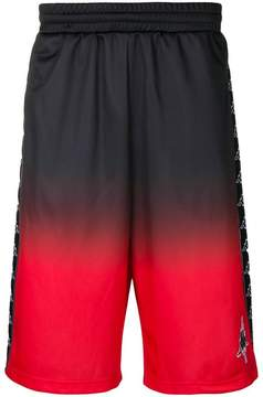Marcelo Burlon County of Milan Kappa gradient shorts