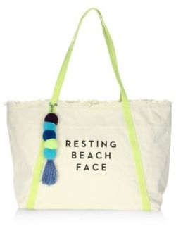 Milly Resting Beach Face Tote