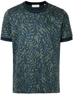 Cerruti tropical-pattern T-shirt