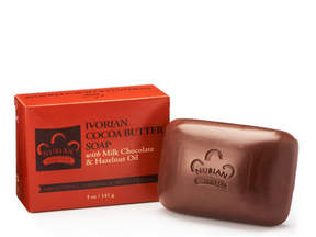 Nubian Heritage Ivorian Cocoa Butter Bar Soap by 5oz Bar)