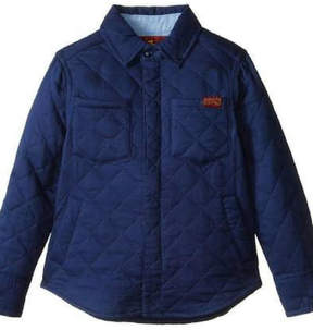 7 For All Mankind Quilted Trucker Jacket