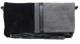 Sanctuary Leather Colorblock Convertible Clutch