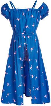 Epic Threads Toddler Girls Flamingo-Print Walkthrough Dress, Created for Macy's