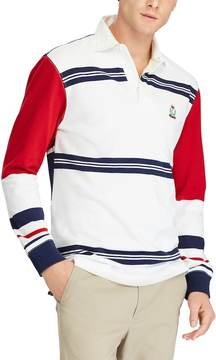 Chaps Men's Classic-Fit Striped Rugby Polo