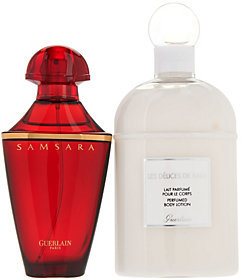 Guerlain Samsara 1.7 oz Eau de Toilette and Body Lotion Duo