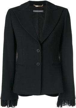 Alberta Ferretti fitted tailored blazer