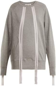 Charli COHEN Ladder-trim cotton sweatshirt