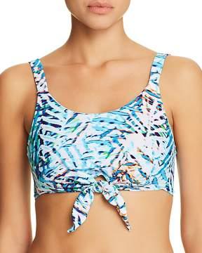 Pilyq Knotted Crop Bikini Top