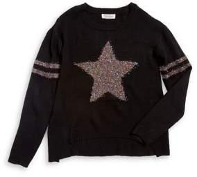 Jessica Simpson Girl's Star Sweater
