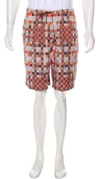 Louis Vuitton Damier Print Shorts