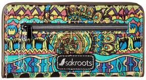 Sakroots Artist Circle Slim Wallet Wallet Handbags