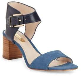 Louise et Cie Kapri Leather and Suede Sandals
