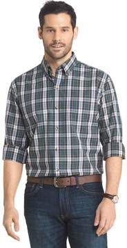 Arrow Men's Regular-Fit Plaid Button-Down Shirt