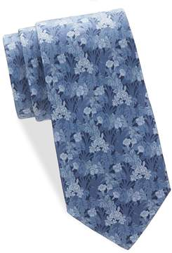 Saks Fifth Avenue Made in Italy Men's Tropical Flower Silk Tie