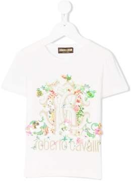 Roberto Cavalli floral print T-shirt