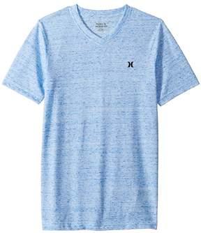 Hurley Cloud Slub Staple V-Neck Tee Boy's T Shirt