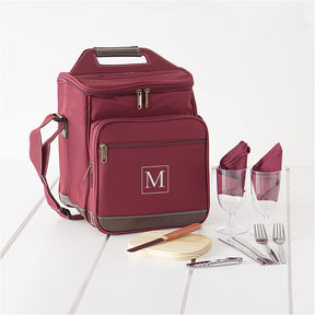 Asstd National Brand Personalized Picnic Cooler Set Storage Bag