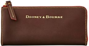 Dooney & Bourke Montecito Zip Clutch - BROWN TMORO - STYLE